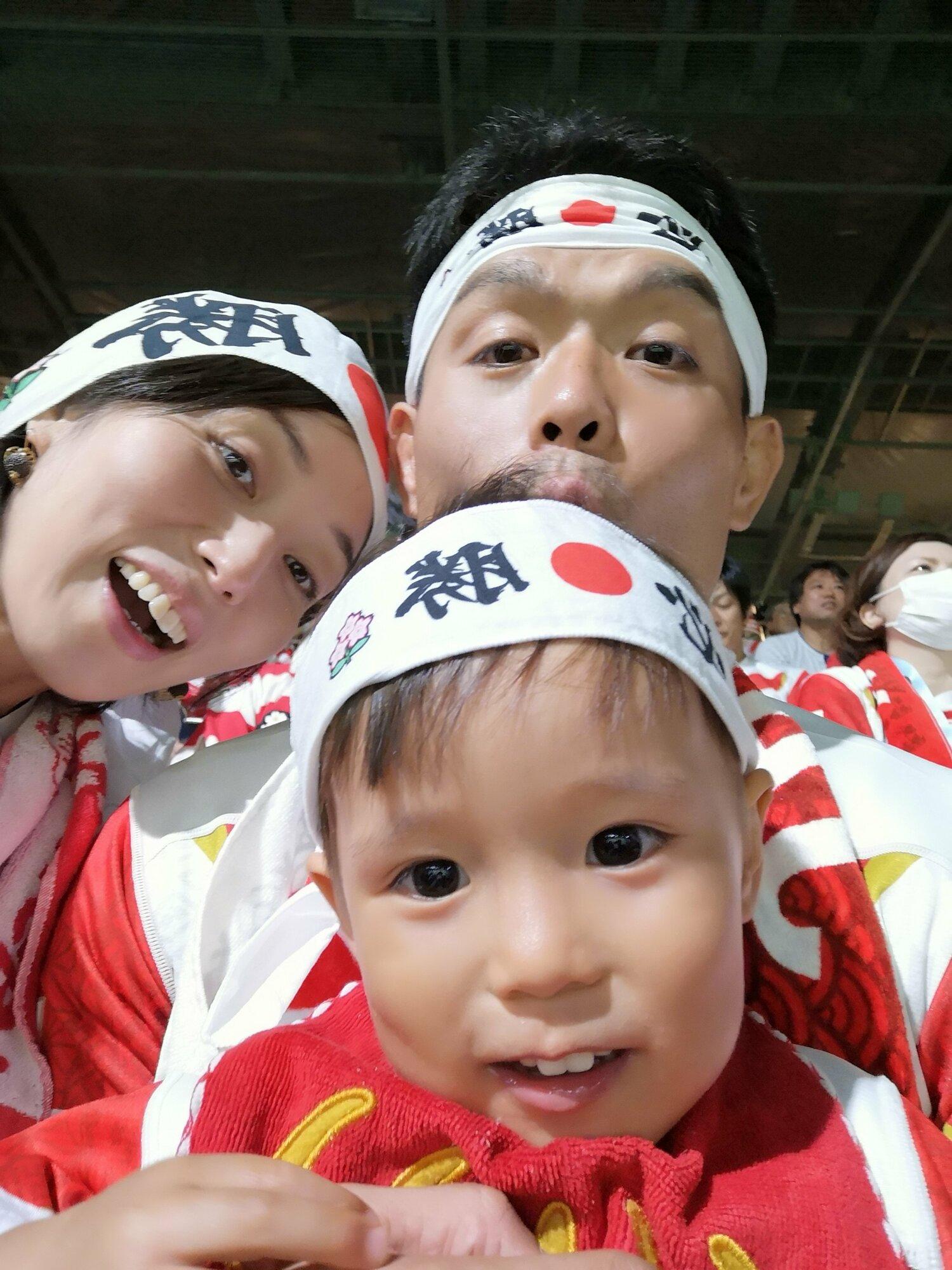 ご家族でスポーツ観戦!