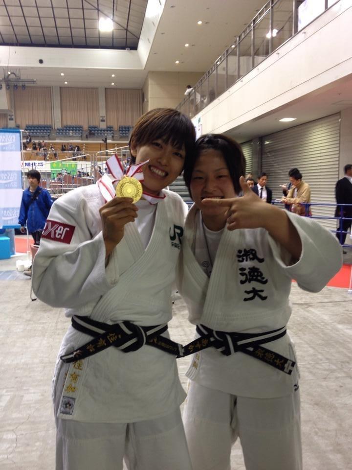 全日本選抜体重別選手権大会で日本一