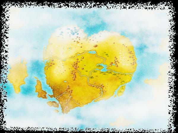 ぬいぐるみの国の地図